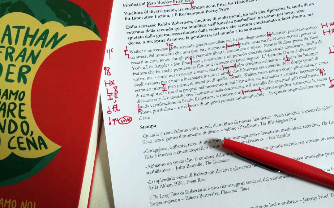 Il correttore di bozze nella letteratura: il caso Saramago