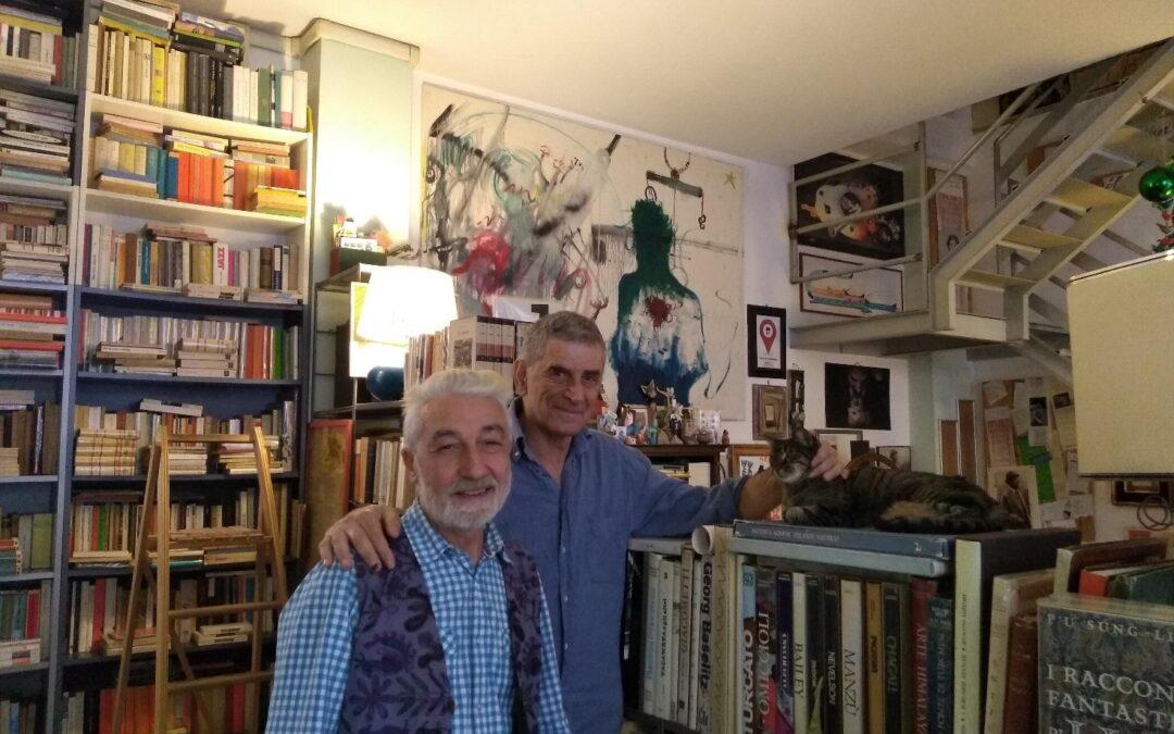 Una visita alla libreria d'occasione Simon Tanner